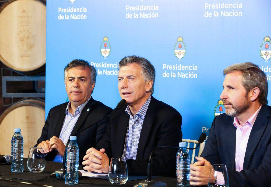 Macri: Podemos ser los responsables de que ésta sea la última crisis de la Argentina