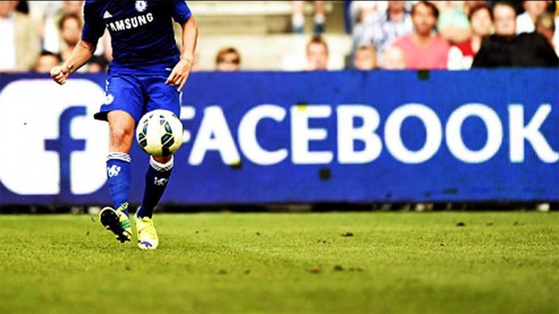 Fútbol y video en la mira de Facebook: el inicio de una prueba a gran escala