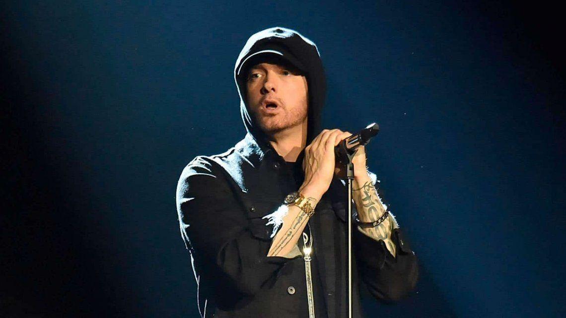 Eminem pulverizó el récord de ABBA y Led Zeppelin