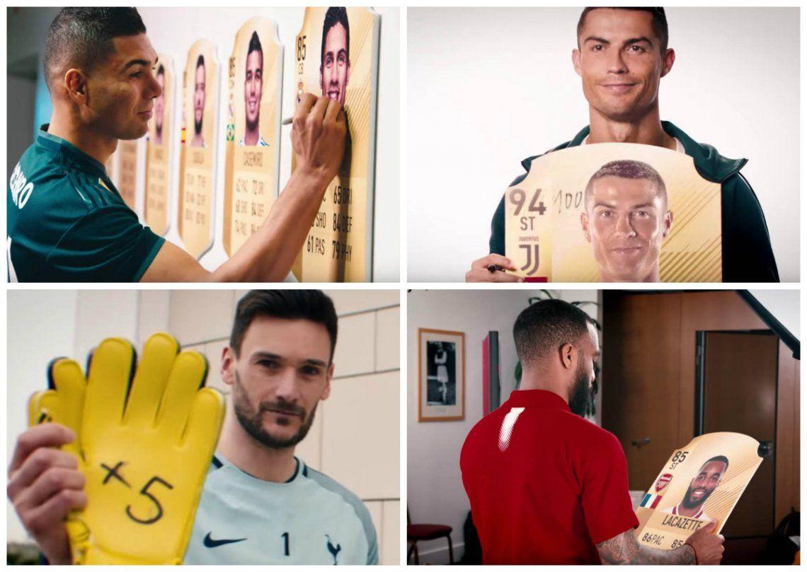 Video | ¡Los jugadores explotaron tras conocer su valoración en el FIFA 19!