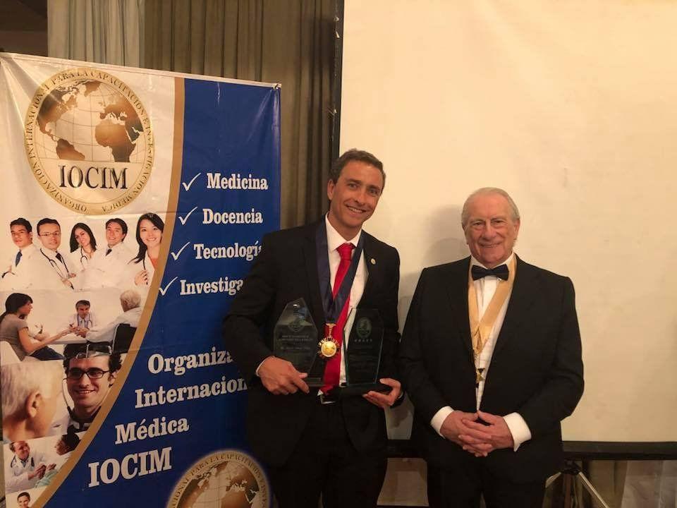 Distinción internacional para cirujano del Hospital El Cruce