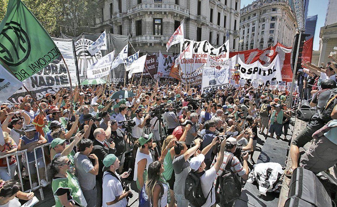dEl próximo miércoles se viene una jornada con muchos cortes y protestas
