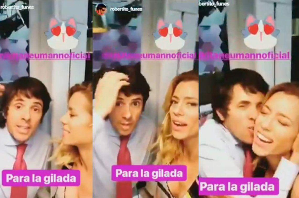 Nicole Neumann negó una pelea con Robertito Funes Ugarte