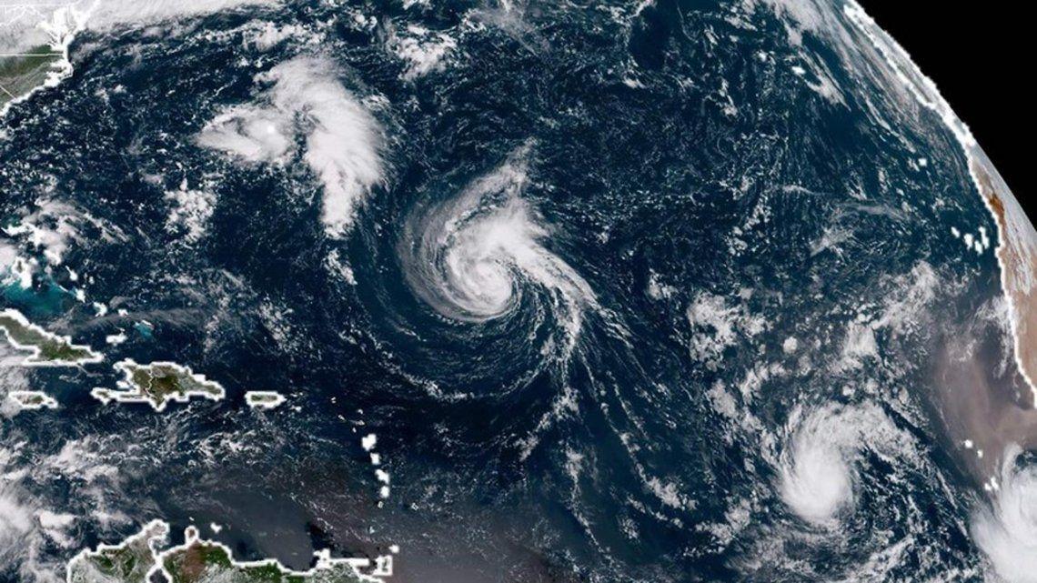 Florence se convirtió en huracán y amenaza a Estados Unidos