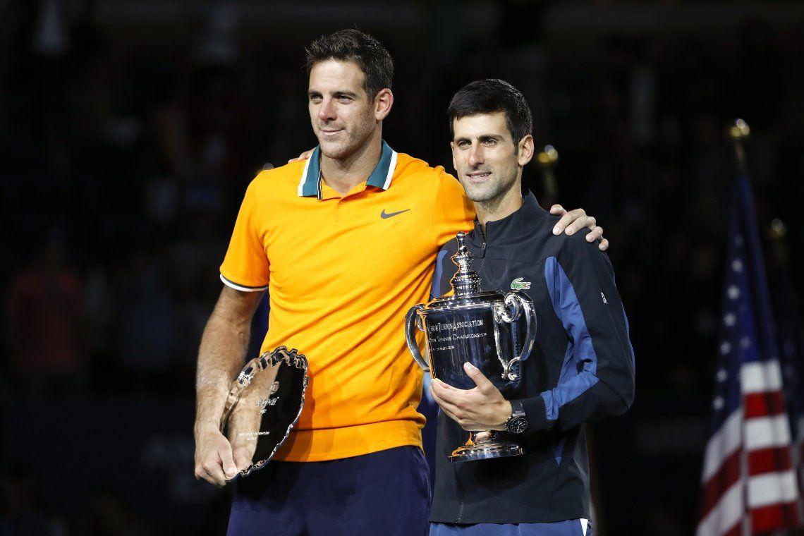 Del Potro no pudo con el incontrolable Djokovic y cayó en la final del US Open