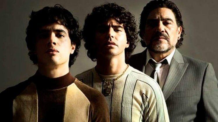 La serie de Diego Maradona debió suspender sus grabaciones