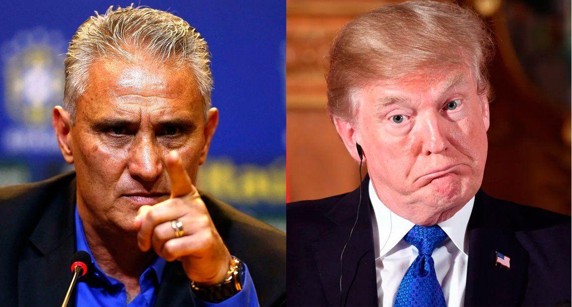 Tité, re caliente, lanzó una chicana provocadora para Donald Trump