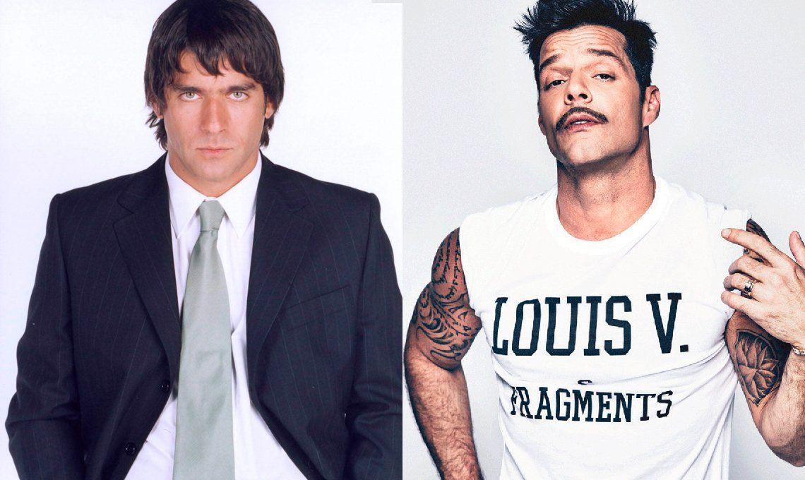 Juan Castro y Ricky Martin vivieron un romance a escondidas