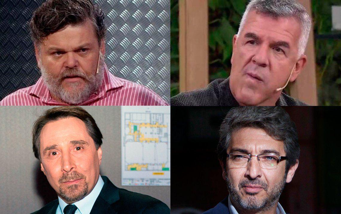 Duras réplicas de Ricardo Darín, Eduardo Feinmann y Alfredo Casero a los dichos de Dady Brieva