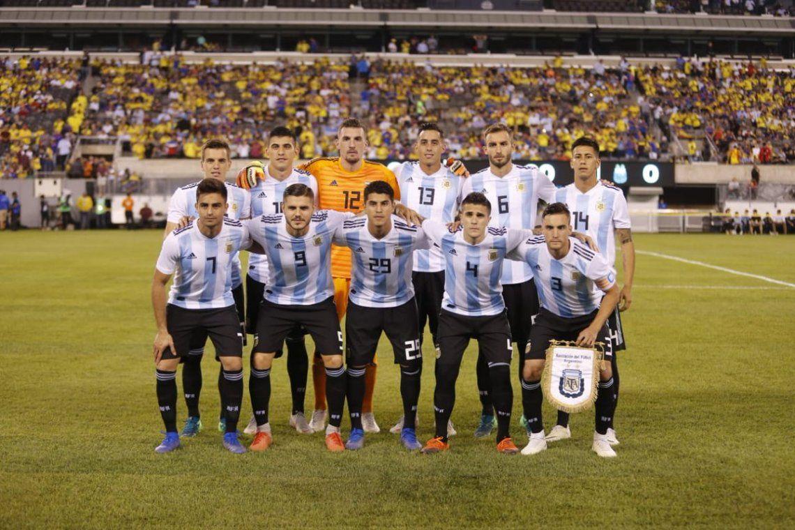 Con altibajos, Argentina empató con Colombia