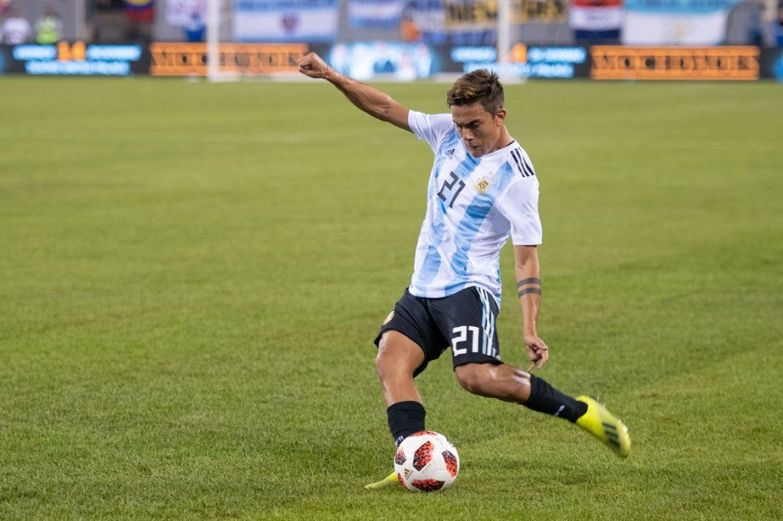 Postales del empate entre Argentina y Colombia