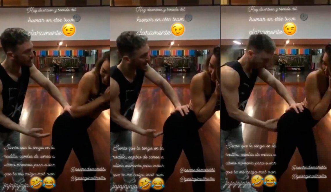 Floppy Tesouro y su coreo más hot: le pide al bailarín que la agarre donde termina la cola