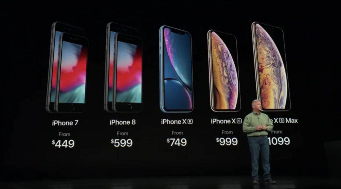 #AppleEvent: Tim Cook presentó sus nuevos modelos de iPhone X