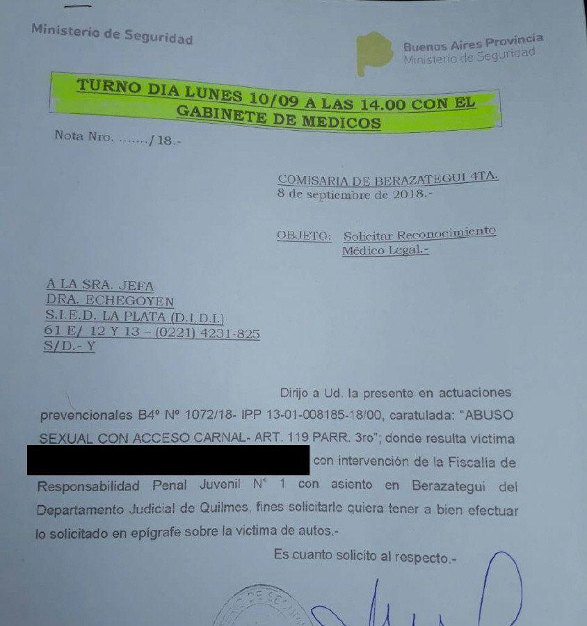 Quilmes: denuncian que abusaron de un nene de 10 años en el baño de una escuela