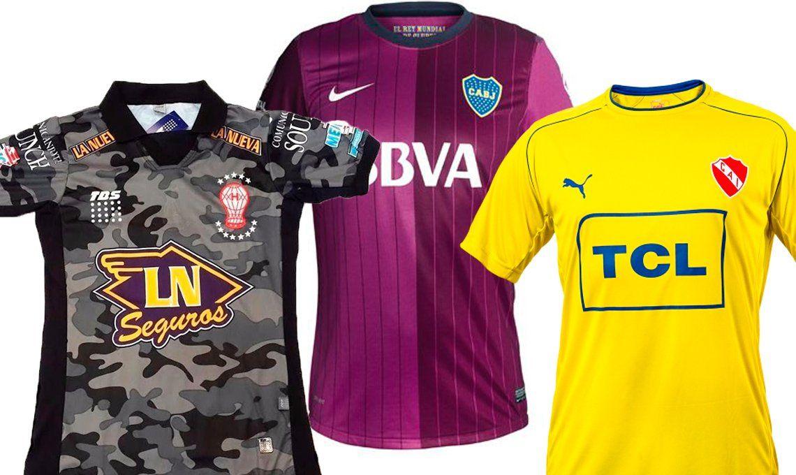 Diez camisetas muy polémicas en la historia del fútbol ... b597924375ff7