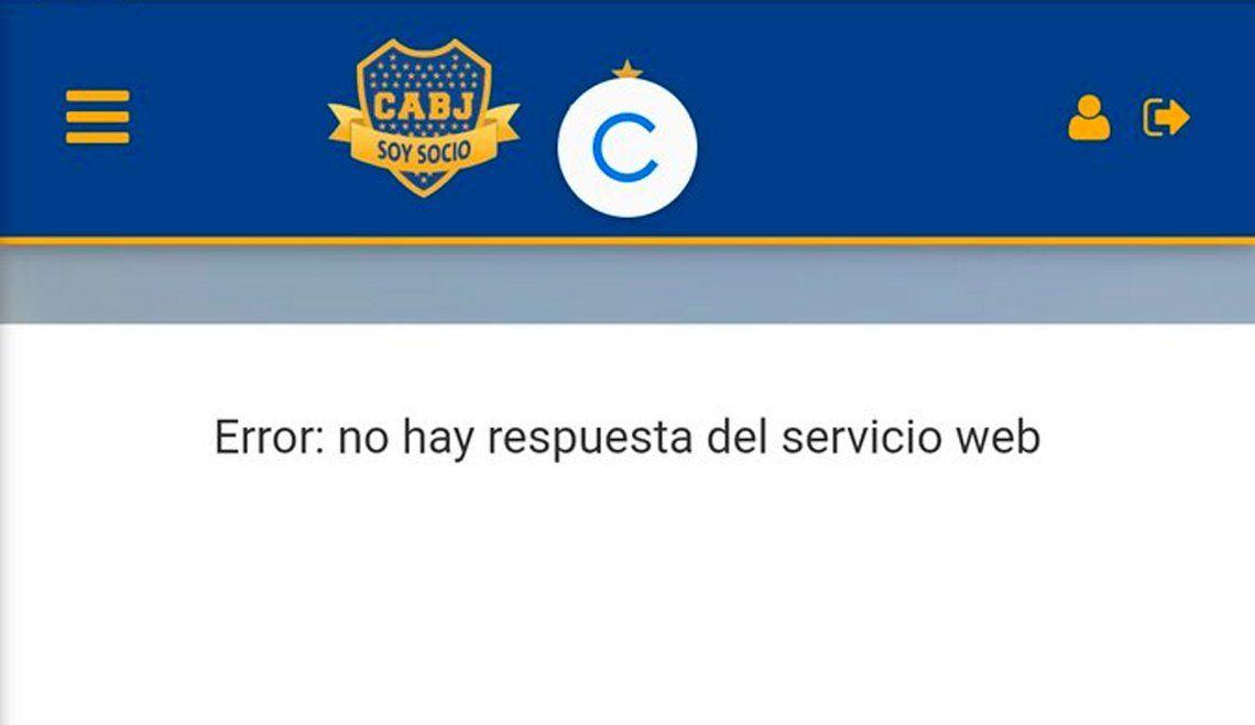 Venta de entradas para Boca-Cruzeiro y fuertes quejas de los socios por sistema saturado