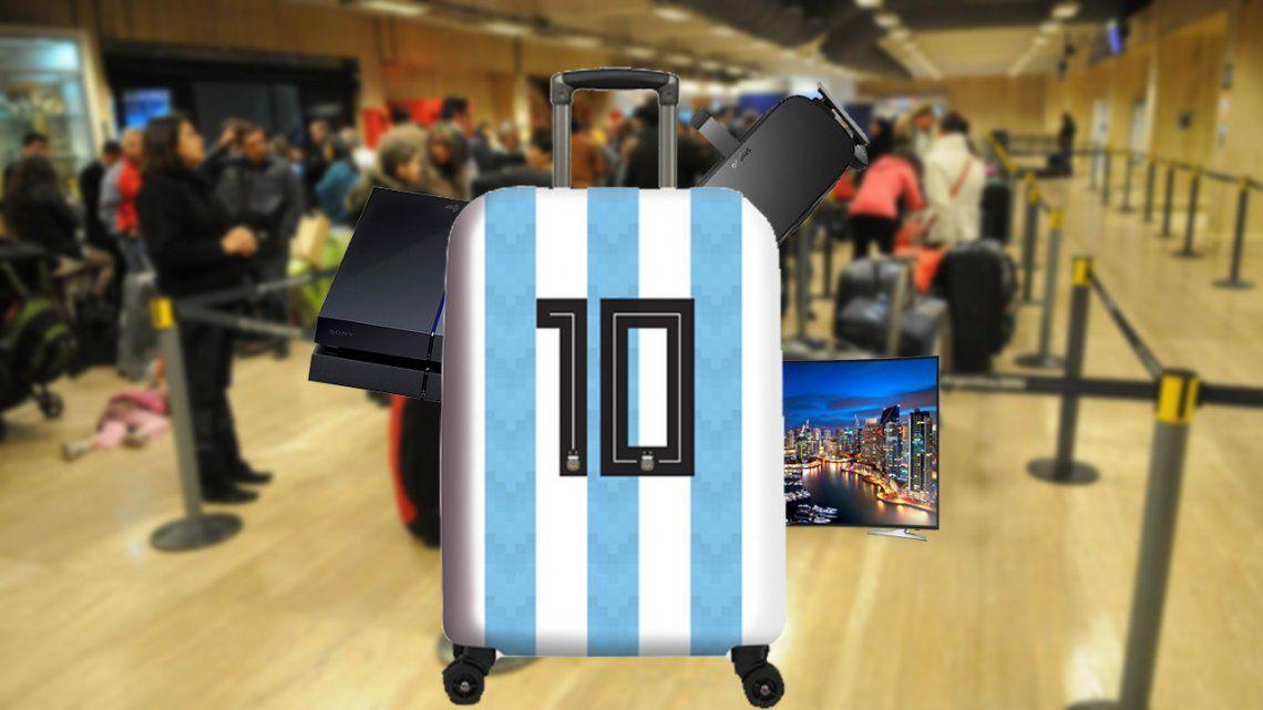 La AFA desmintió las versiones por las valijas con electrónica no declarada en la Selección Argentina