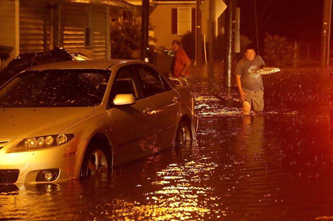 El paso del Huracán Florence, en imágenes
