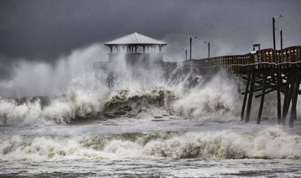 Huracán Florence: los videos más impactantes