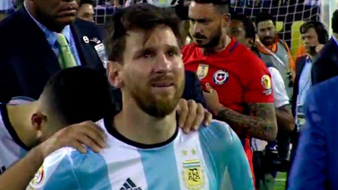 La historia de cuando Messi lloró como un nene que perdió a la madre