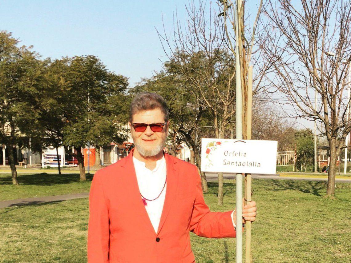 Gustavo Santaolalla homenajeó a su madre
