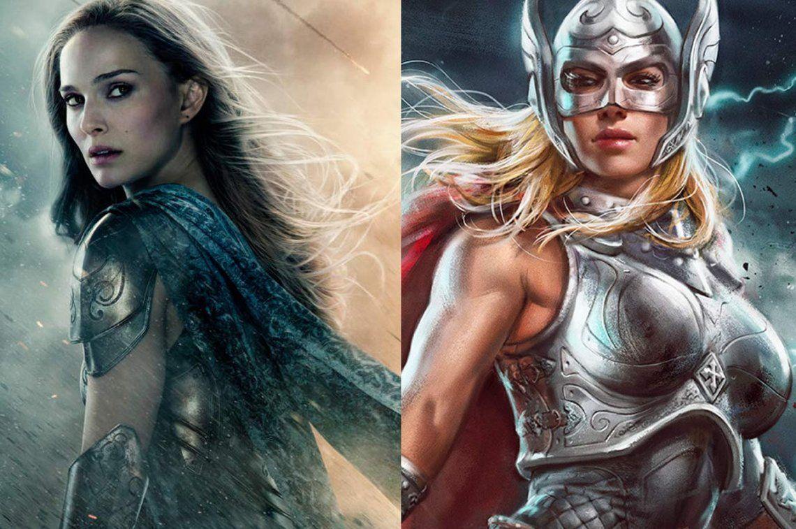 ¿Cómo se transformaría Natalie Portman en la nueva Thor?
