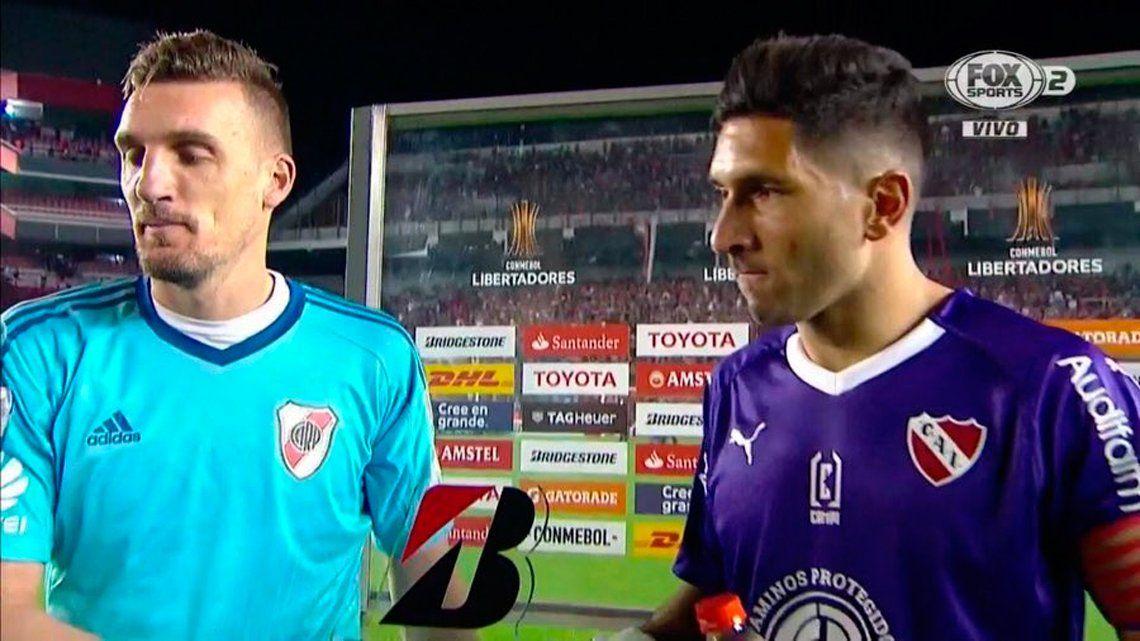 Independiente - River: la atajada de antología de Franco Armani ante Gigliotti