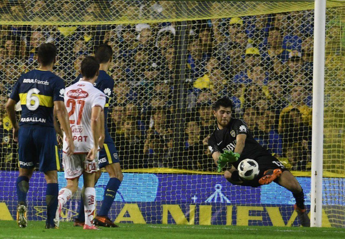 Agustín Rossi toma la posta en el Superclásico