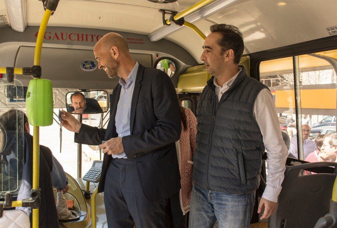 Tagliaferro y Dietrich participaron de las últimas pruebas del Metrobús de Morón