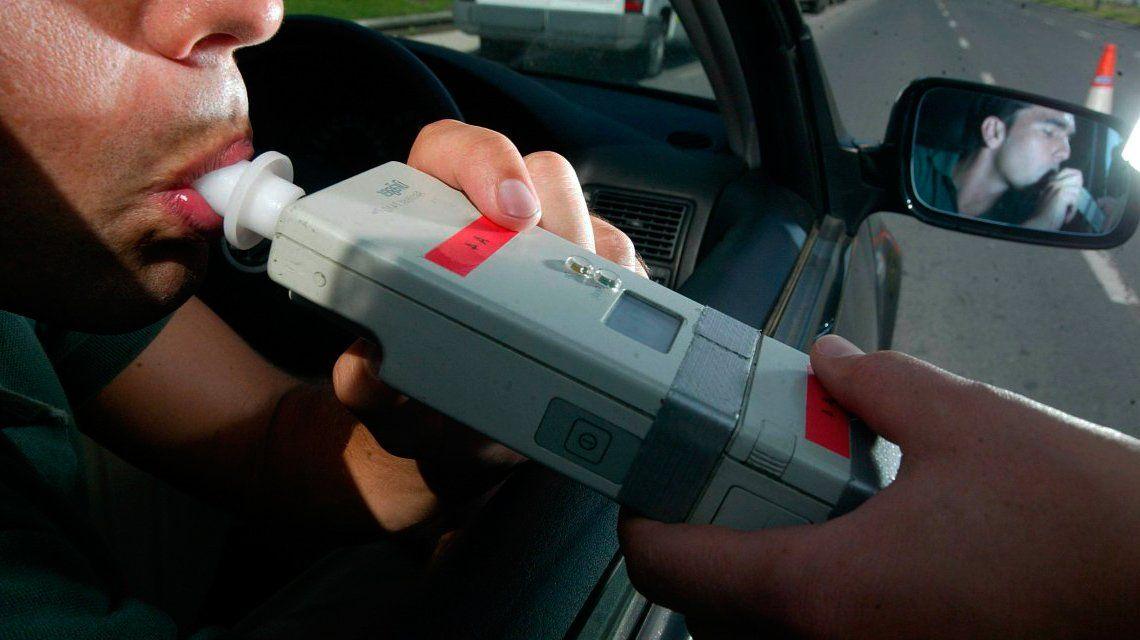 Seguridad Vial: Comienzan los controles de alcoholemia en todo el país de modo simultáneo