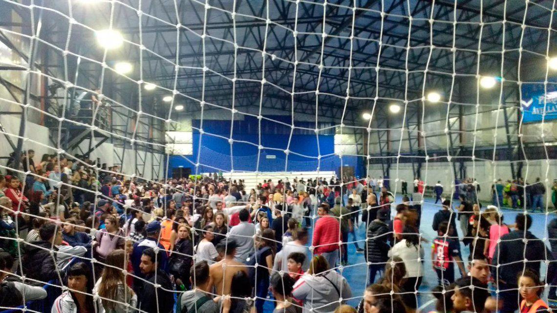 Bochorno en futsal femenino: batalla entre barras de San Lorenzo y Huracán