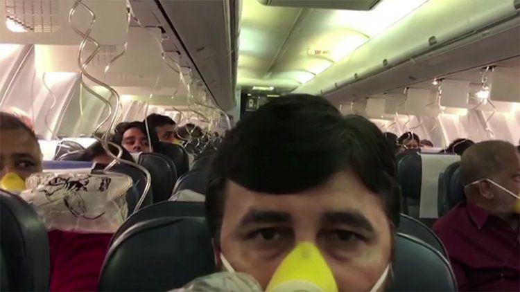 Olvidaron presurizar el avión y 30 pasajeros debieron ser atendidos por sangrados