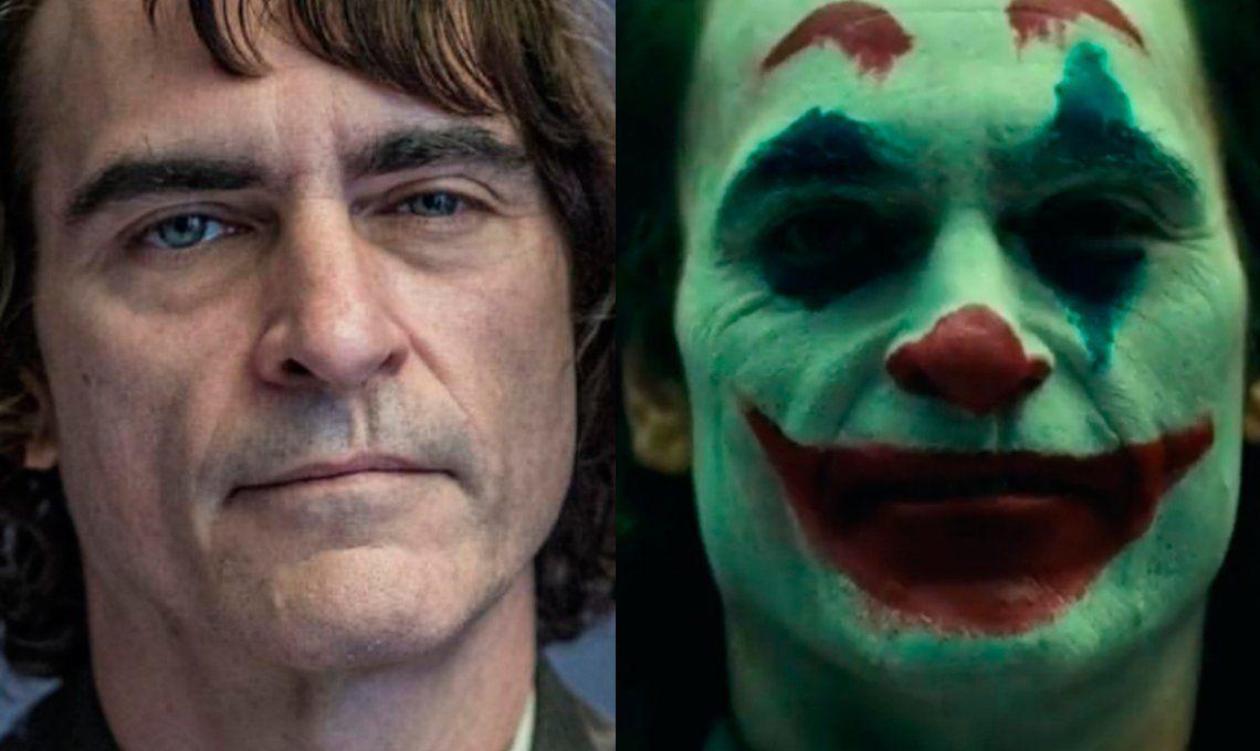Joaquin Phoenix se ve inquietante con el maquillaje del Joker