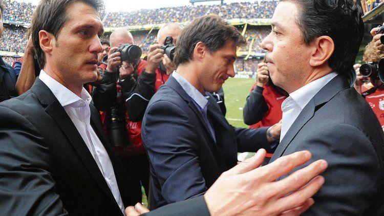 Guillermo Barros Schelotto y Marcelo Gallardo una vez más frente a frente en un Superclásico que en esta ocasión lo esperan de una manera distinta a la habitual.