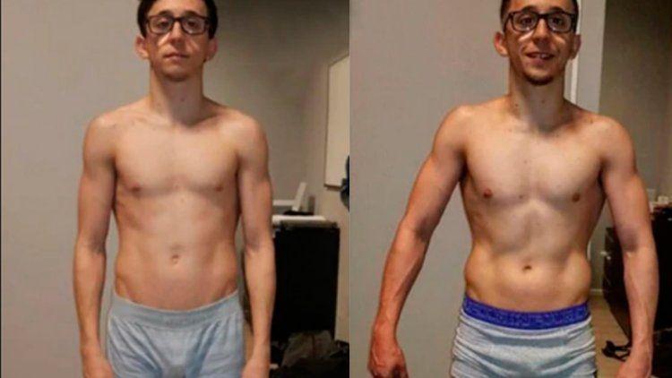 El increíble cambio físico de Rodrigo Noya en solo 25 días