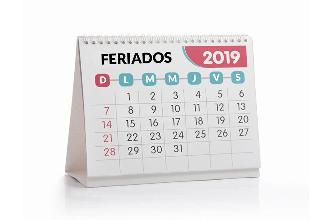 Calendario Diciembre 2019 Para Imprimir Argentina.Feriados 2019 En Argentina El Calendario Completo Feriados