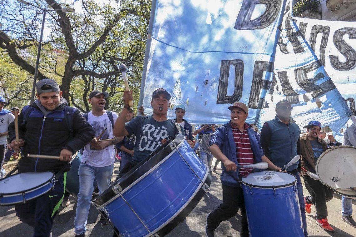 Las CTA y organizaciones sociales comenzaron las jornadas de protesta