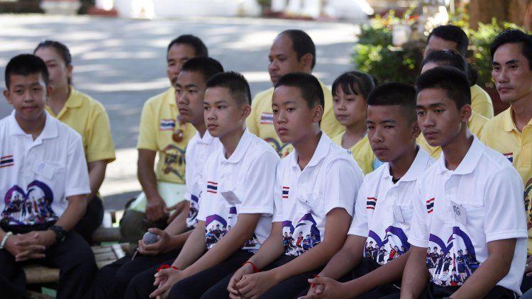 Los chicos rescatados de la cueva de Tailandia vendrán a Buenos Aires