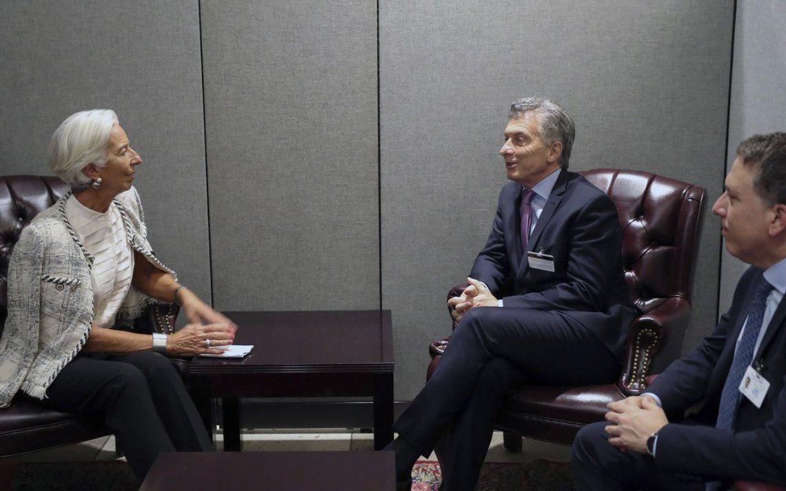 Macri: Lagarde dijo que Sandleris le da confianza