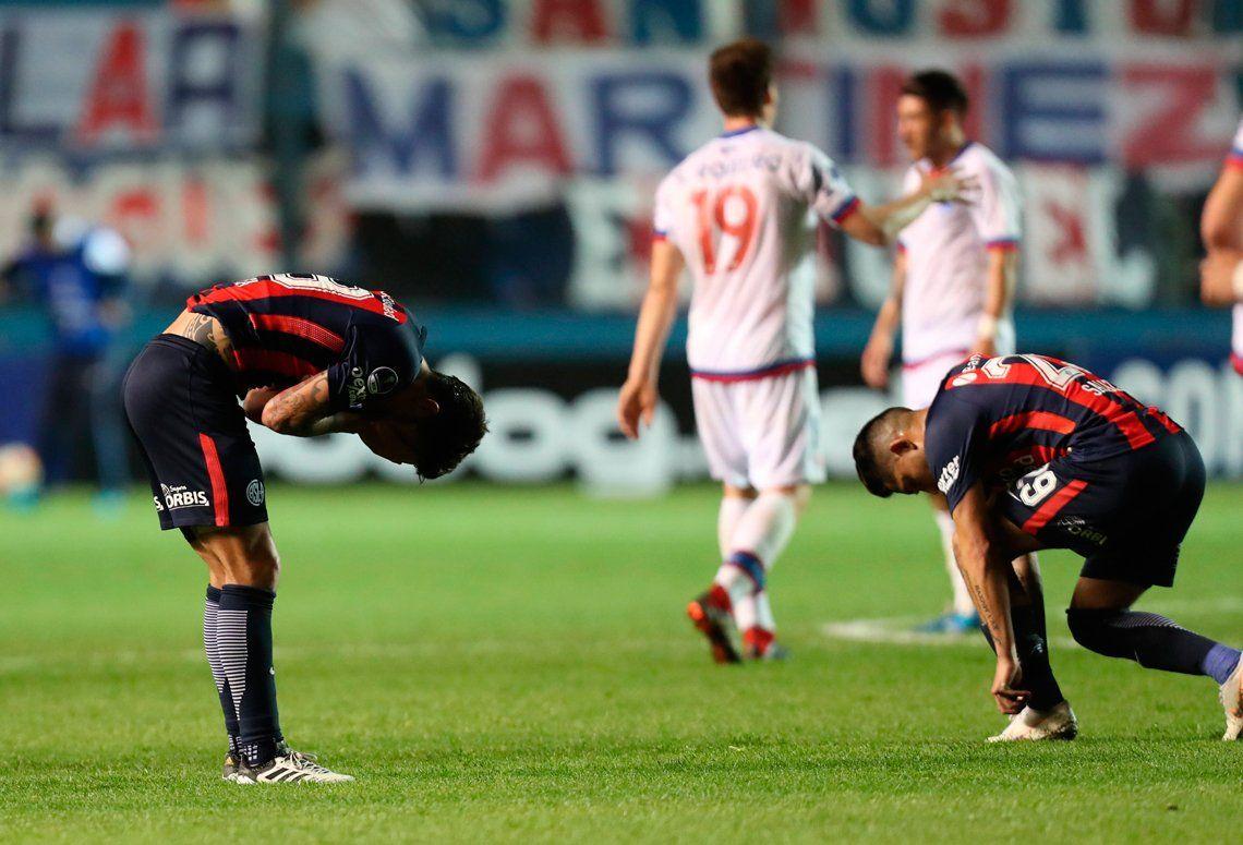 La bronca de San Lorenzo, tras quedar afuera de la Copa: Somos unos pelotudos