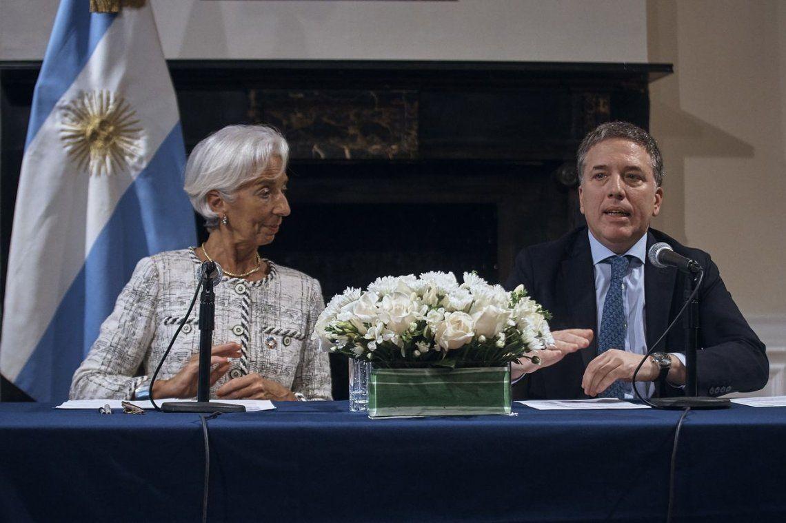Dujovne y Lagarde se reunieron en Washington