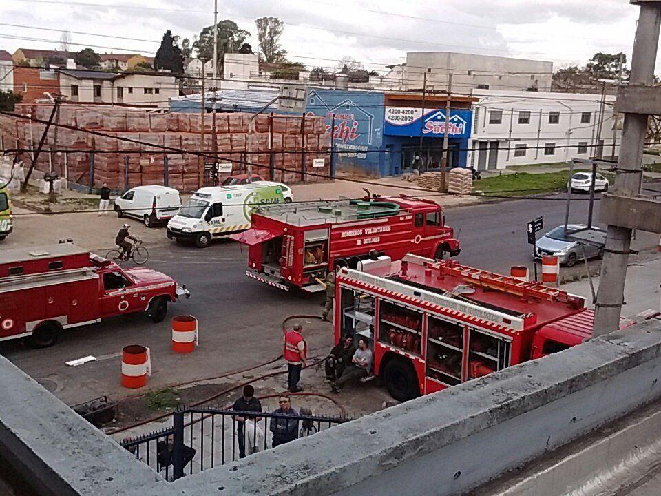 Otro incendio en una sede de Movistar afectó a cientos de usuarios en Quilmes
