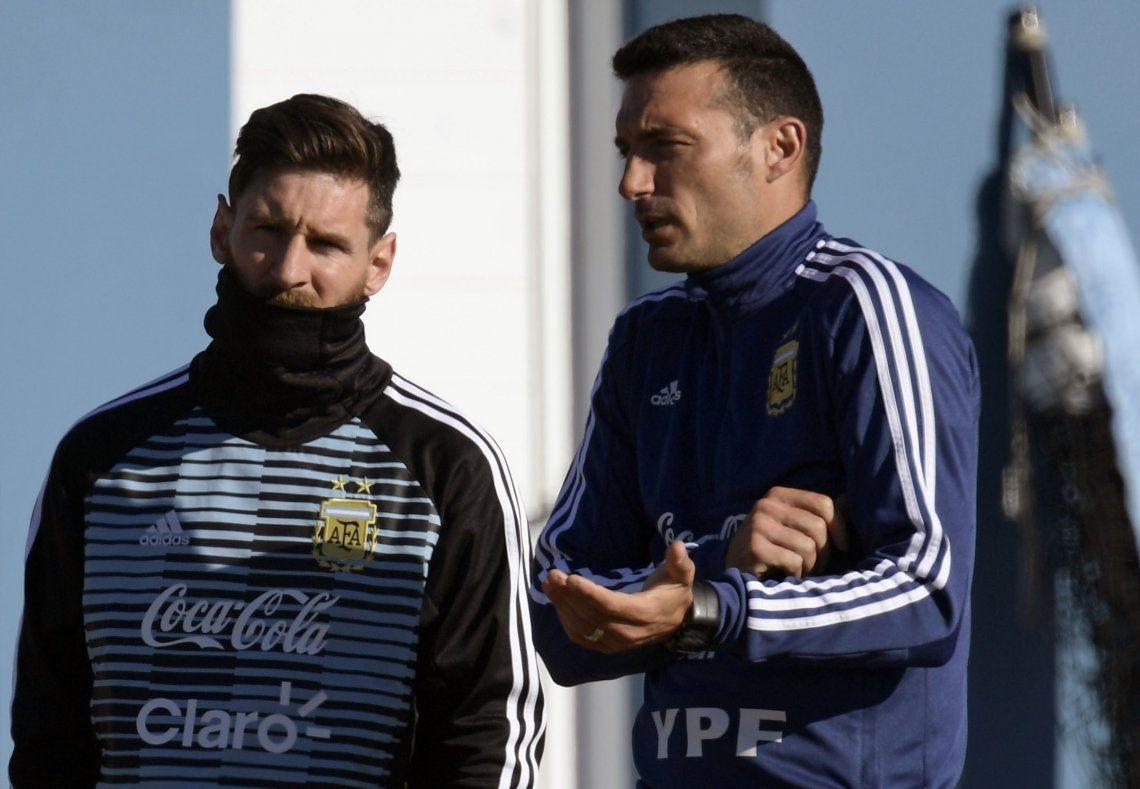 Scaloni, sobre la frustración de Messi en la Champions League: Fue un palo importante, tiene que reponerse