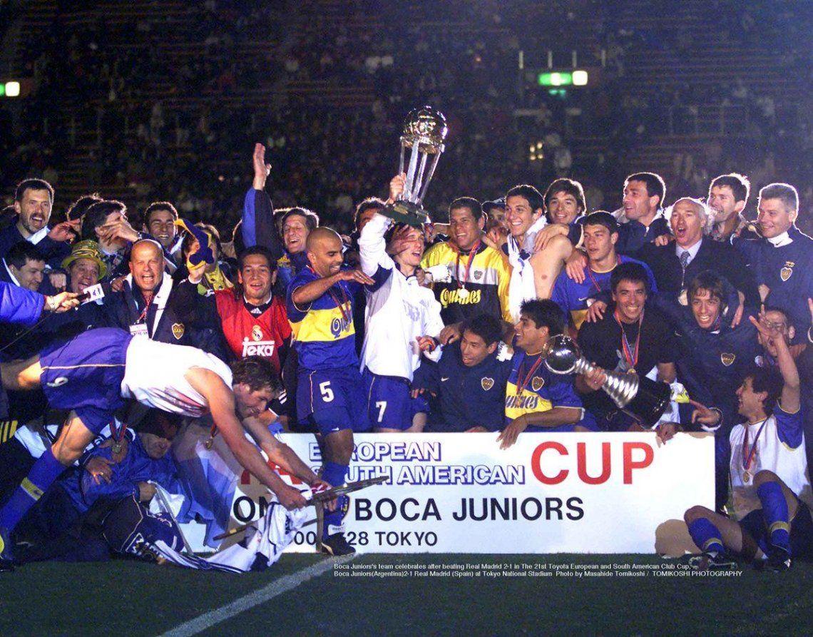 Se cumplen 20 años de la hazaña de Boca ante Real Madrid en Japón