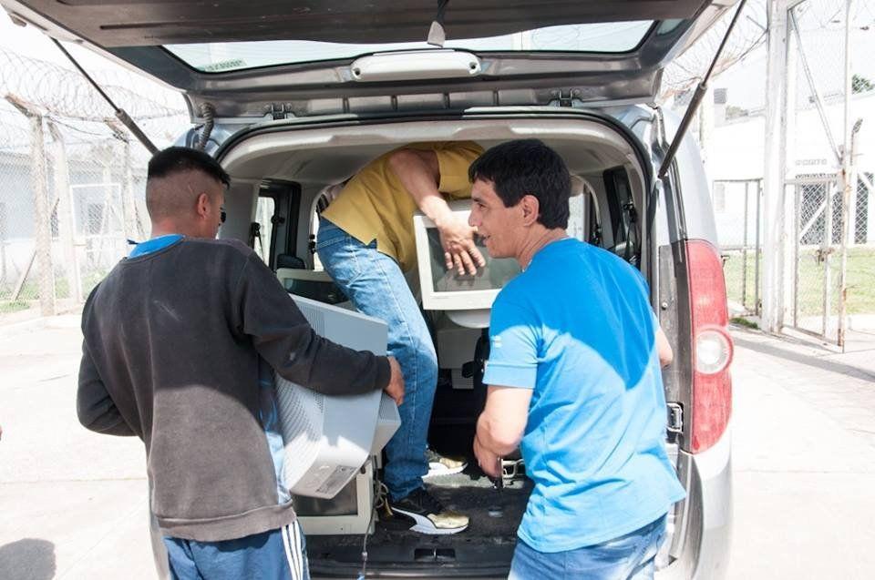 Una labor solidaria desde atrás de las rejas en Varela