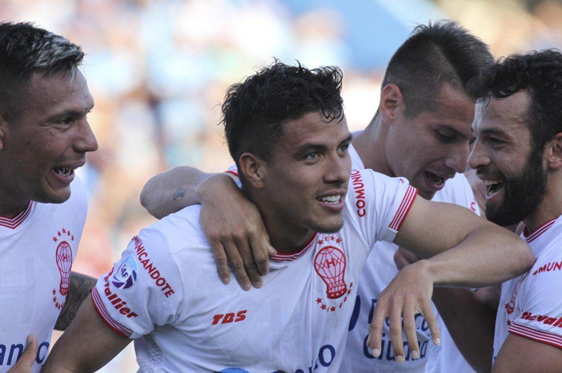 Este golazo de Roa le dio la victoria a Huracán ante Belgrano