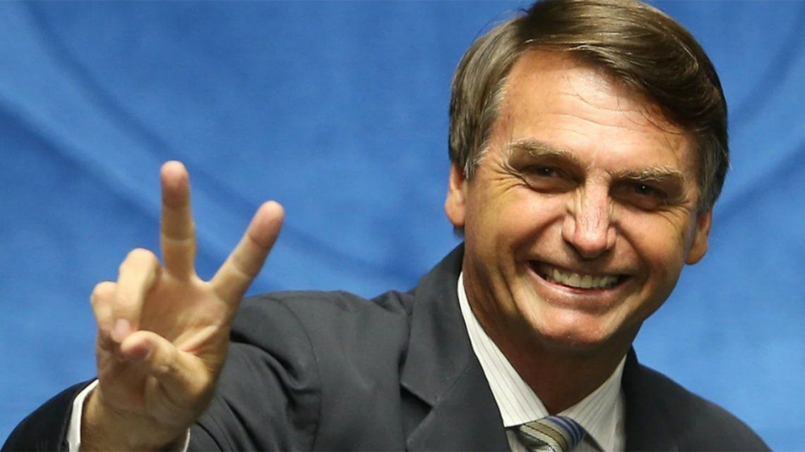 Bolsonaro se declaró admirador de Trump y le mando un abrazo a Macri