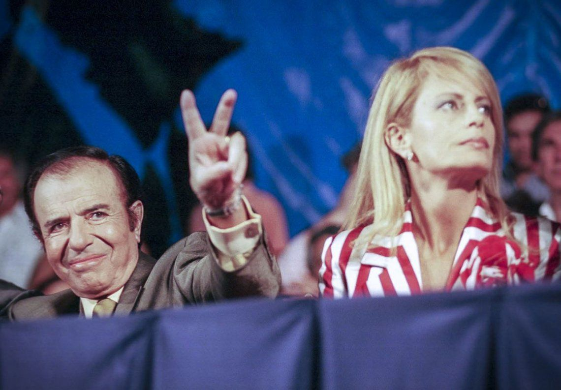 Reabren una causa contra Carlos Menem y Cecilia Bolocco por presunto enriquecimiento ilícito