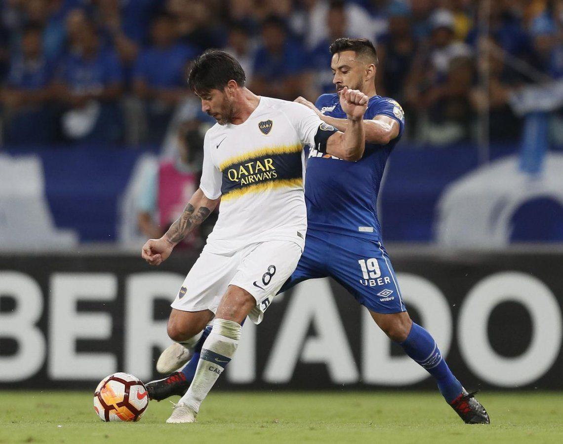 El uno x uno de Boca ante Cruzeiro