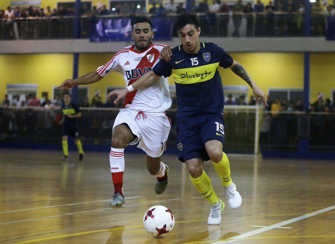 Superclásico en Futsal: River y Boca en un partido que promete batalla